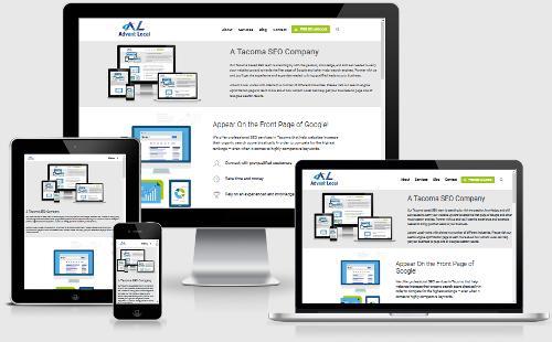 A Tacoma based SEO company designing mobile responsive websites